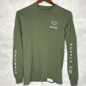 Diamond Supply Co. Long Sleeve Graphic Tee
